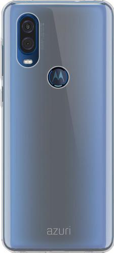 Azuri Motorola One Vision Back Cover Transparant Main Image