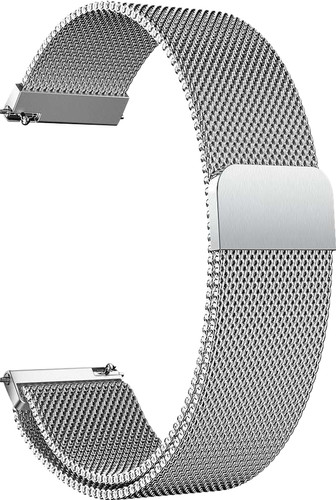Just in Case Samsung Milanese Strap Silver 20mm Main Image