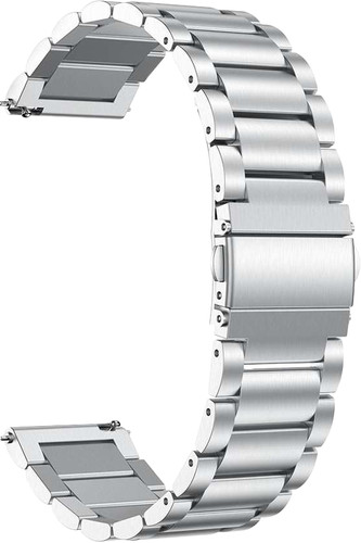 Just in Case Samsung Galaxy Watch Active Metalen Bandje Grijs Main Image