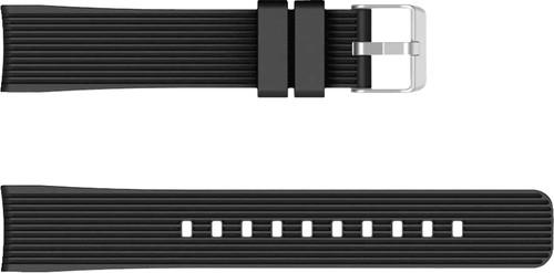 Just in Case Samsung Galaxy Watch Active Siliconen Bandje Zwart Main Image