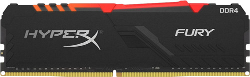 Kingston HyperX Fury 8GB DDR4 DIMM 2400MHz (1x8GB) Main Image