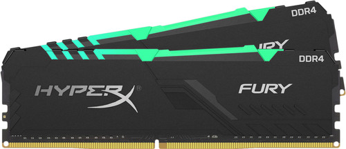 Kingston HyperX Fury 16GB DDR4 DIMM 2400MHz (2x8GB) Main Image