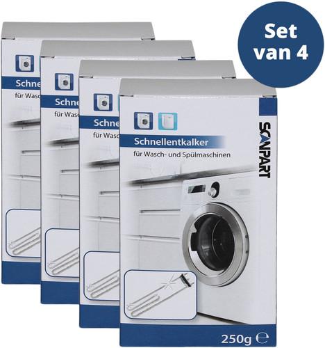 Scanpart Vaatwasser en Wasmachine Ontkalker 4 stuks Main Image