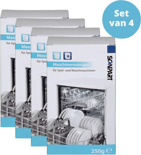 Scanpart Vaatwasser en Wasmachine Reiniger 4 stuks Main Image