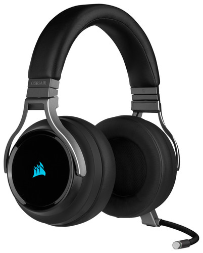 Corsair Virtuoso RGB Wireless Gaming Headset Carbon Main Image