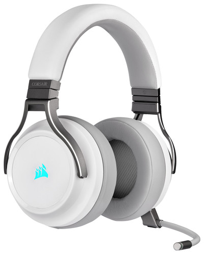 Corsair Virtuoso RGB Wireless Gaming Headset White Main Image