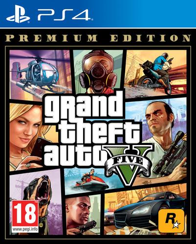 Grand Theft Auto V (GTA 5) Premium Edition PS4 Main Image