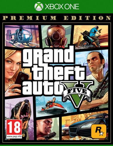Grand Theft Auto V (GTA 5) Premium Edition Xbox One Main Image