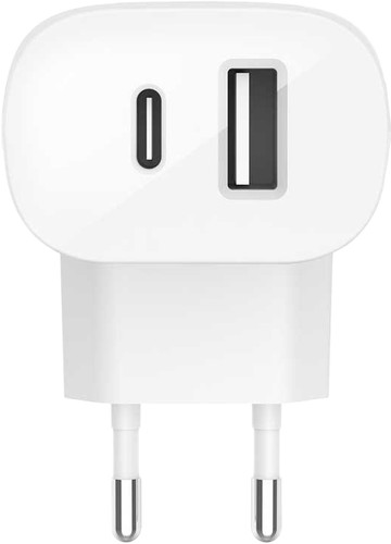 Belkin Charger without Cable and 2 USB ports 18W Power Delivery Main Image