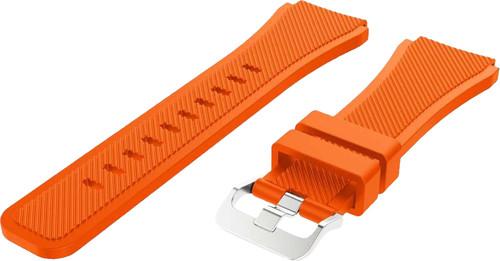 Just in Case Samsung Galaxy Watch 46mm Siliconen Bandje Oranje Main Image