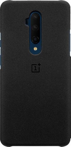 OnePlus 7T Pro Sandstone Protective Case Back Cover Zwart Main Image