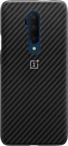 OnePlus 7T Pro Karbon Bumper Case Back Cover Zwart Main Image