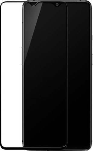 OnePlus 7T Screen Protector Tempered Glass Black Main Image