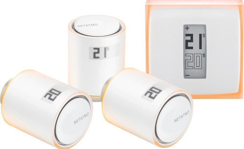 Netatmo Thermostaat + Netatmo NAV-EN 3-Pack Main Image