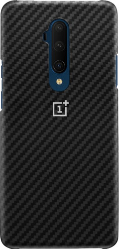 OnePlus 7T Pro Karbon Protective Case Back Cover Zwart Main Image