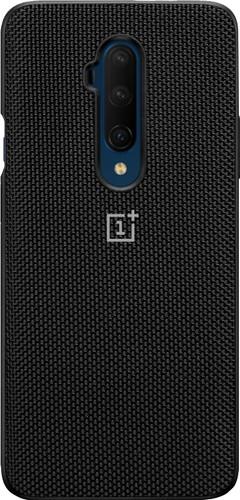 OnePlus 7T Pro Nylon Bumper Case Back Cover Zwart Main Image