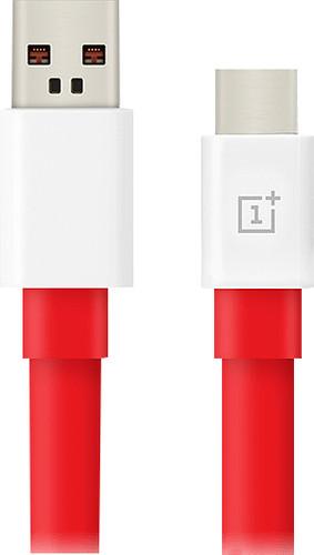 OnePlus Warp Charge Usb A naar Usb C Kabel 1,5m Kunststof Rood Main Image
