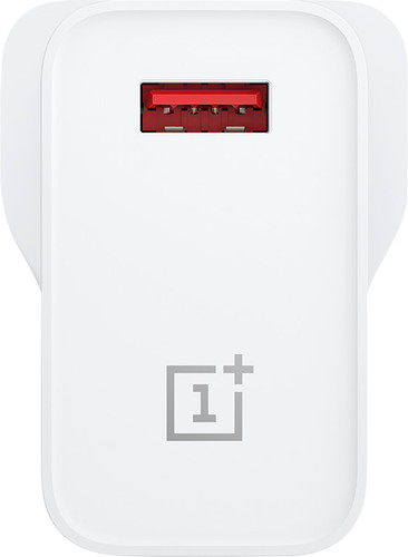 OnePlus Warp Charge 30 Charger without Cable USB-A 30W White Main Image