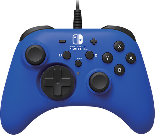 HORI - Nintendo Switch Blue Horipad Wired Gamepad Main Image