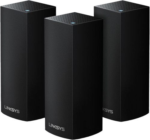 Linksys Velop Tri-band Multi-room WiFi Black (3 stations) Main Image