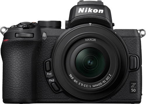 Nikon Z50 + 16-50mm f/3.5-6.3 VR + FTZ Adapter Kit Main Image