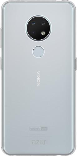 Azuri Nokia 6.2 / 7.2 TPU Back Cover Transparent Main Image
