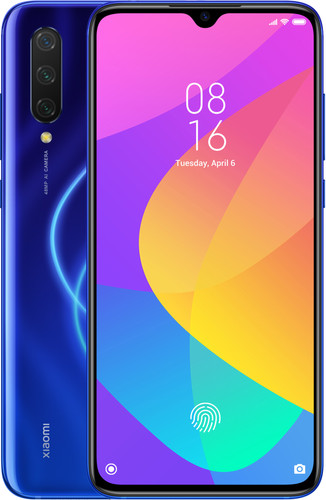 Xiaomi Mi 9 Lite 128GB Blauw Main Image