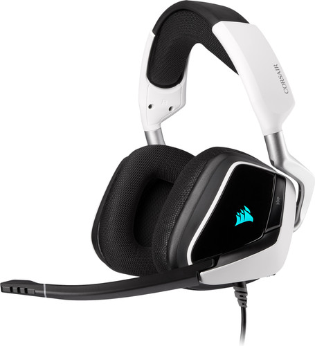 Corsair Void RGB Elite USB Premium Gaming Headset PC Zwart/Wit Main Image