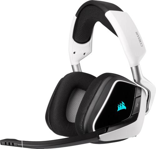 Corsair Void RGB Elite Draadloze Gaming Headset PC/PS4/PS5 Zwart/Wit Main Image