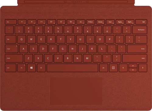 Microsoft Surface Type Cover Rood Qwerty Main Image