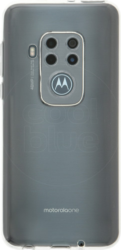 Just in Case Soft TPU Motorola One Zoom Back Cover Transparant Main Image