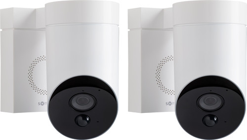 Somfy Outdoorcamera Wit Duo Pack Main Image