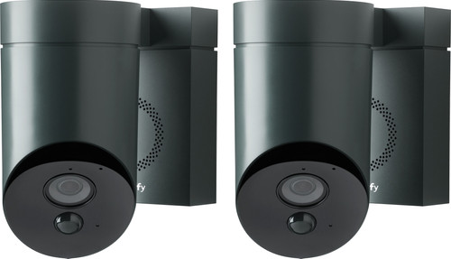 Somfy Outdoor Camera Black Duo Pack Main Image