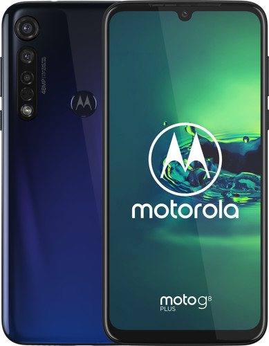 Motorola Moto G8 Plus Blue Main Image