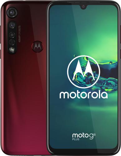 Motorola Moto G8 Plus Rood Main Image