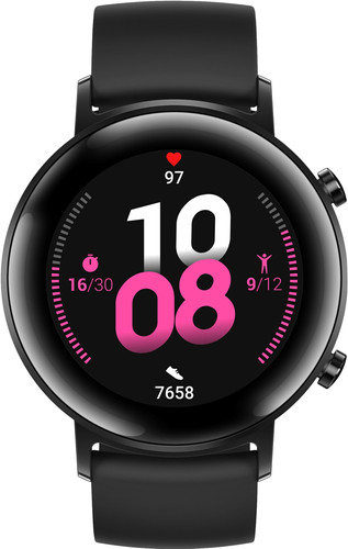 Huawei Watch GT 2 RVS Zwart 42mm Main Image