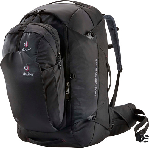 Deuter Aviant Access Pro 55L Black - Slim Fit Main Image