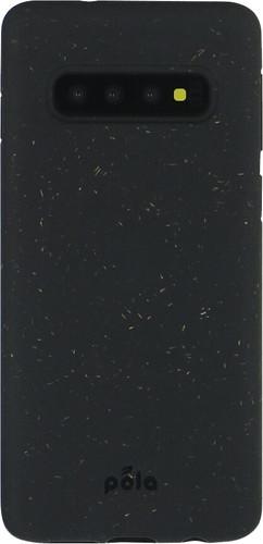 Pela Eco Friendly Samsung Galaxy S10 Back Cover Zwart Main Image