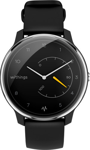 Withings Move ECG Silver/Black Main Image