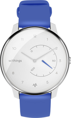 Withings Move ECG White/Blue Main Image