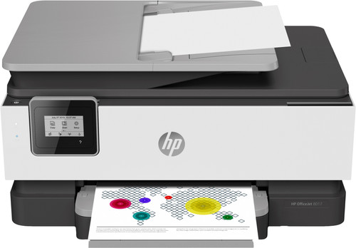 HP OfficeJet 8017 All-in-one + HP instant Ink tegoed Main Image