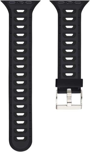 Just in Case Soft Strap for Apple Watch 38/40mm Rubberen Bandje Zwart Main Image