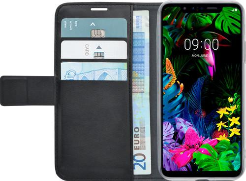 Azuri Wallet LG G8s ThinQ Book Case Zwart Main Image