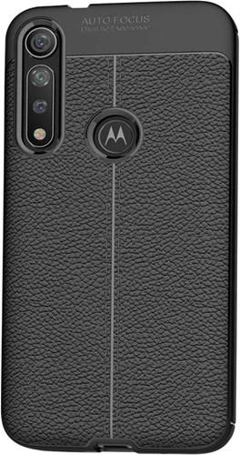 Just in Case Soft Design TPU Motorola Moto G8 Plus Back Cover Zwart Main Image