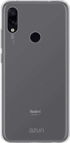 Azuri TPU Xiaomi Redmi Note 7 Back Cover Transparant Main Image
