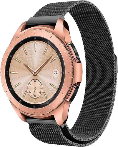 Just in Case Samsung Galaxy Watch Active2 Milanees Bandje Zwart Main Image