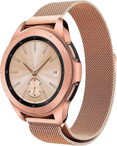 Just in Case Samsung Galaxy Watch Active2 Milanees Bandje Rosé Goud Main Image