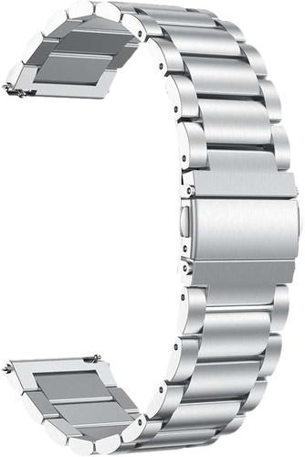 Just in Case Samsung Galaxy Watch Active2 RVS Bandje Zilver Main Image