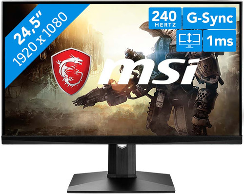 MSI Optix MAG251RX - Beste Full HD gaming monitor kopen