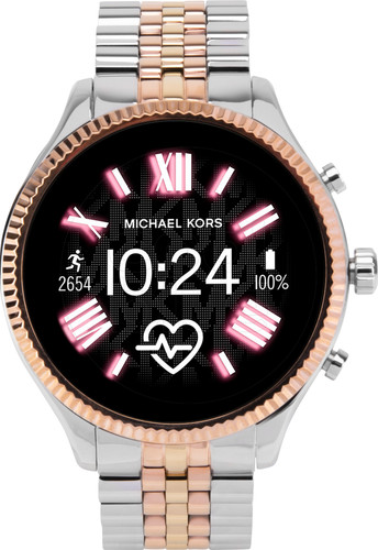 Michael Kors Access Lexington Gen 5 MKT5080 ZilverRosé goud